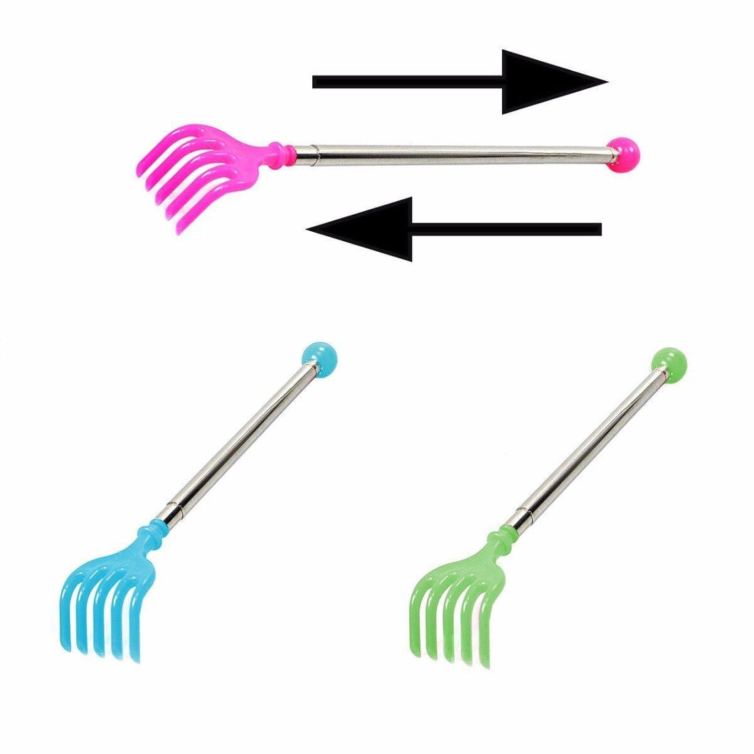 Back Scratcher Extendable Massager Telescopic Portable Long Reach Claw 4834 (Parcel Rate)