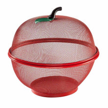 Load image into Gallery viewer, Apple Fruit & Vegetable Bowl Basket Set 28.5cm Kitchen 1500 (Parcel Rate)