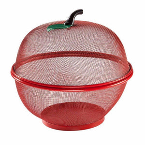 Apple Fruit & Vegetable Bowl Basket Set 28.5cm Kitchen 1500 (Parcel Rate)