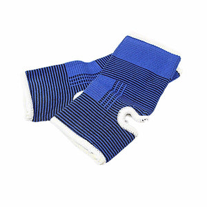 Fitness First AID Injury Straps Fitness Ankle Support Pack Of 2 0489 (Large Letter Rate)