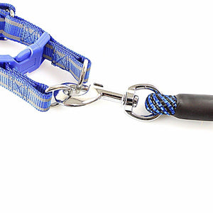 Step In Reflective Nylon Puppy Dog Pet Harness And Lead Leash Safety For Dogs  4266 (Large Letter Rate)