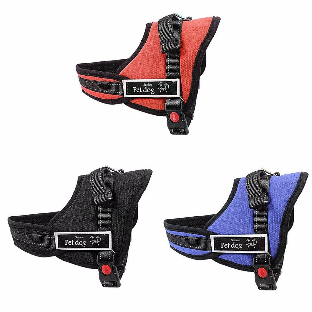 Pet Dog Adjustable Harness Size Small Pet Dog Supplies in 3 Colours 3035  (Parcel Rate)