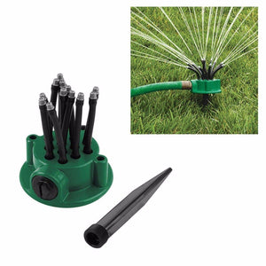 Multifunctional Garden Lawn Sprinkler Watering Multi Use Wide Spread   4753 (Parcel Rate)