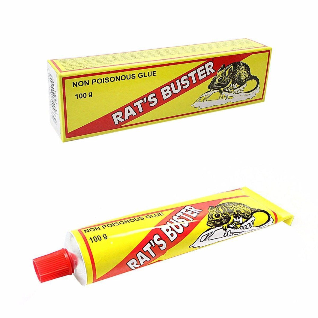 Pest Control Non Poisonous Rats Buster Glue 100g Diy 5075 (Parcel Rate)