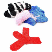 Load image into Gallery viewer, Furry Fuzzy Slipper Type Socks Soft Gentle Assorted Colour One Size 6208 (Large Letter Rate)