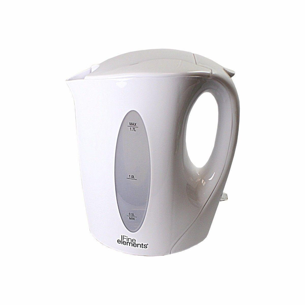 Fine Elements Off White Kitchen Appliances KETTLE Max 1.7L   2495 (Parcel Rate)