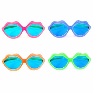High Quality Novelty Assorted Colour Sunglasses Fancy Dress Glasses  4135 (Large Letter Rate)