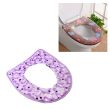 Load image into Gallery viewer, Soft Comfortable Luxury Felt Toilet Seat Cover In Assorted Colours  4871 (Parcel Rate)