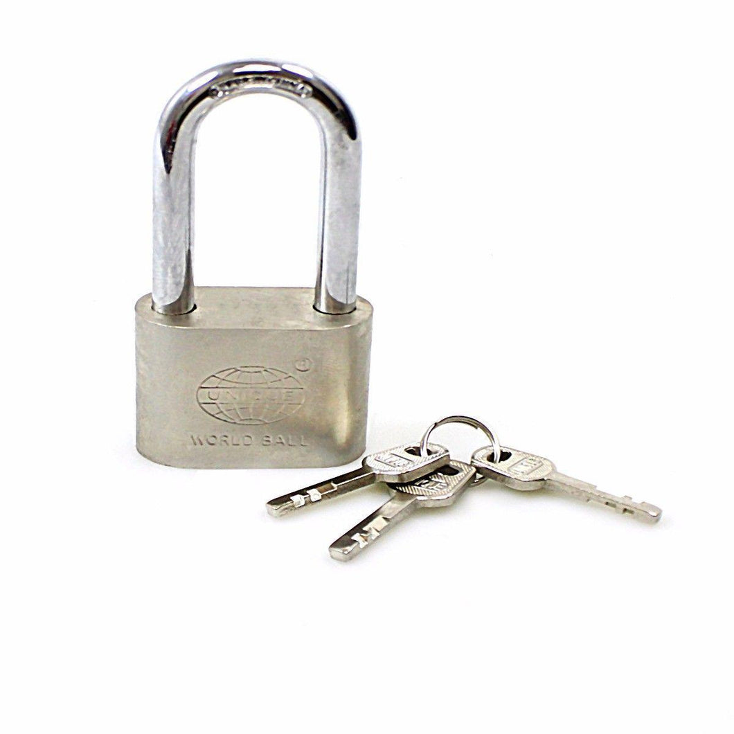 World Ball Security Lock Padlock 60mm Security Steel Lock 0247 (Large Letter Rate)