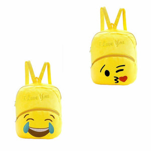 Childrens Adults Fury Yellow Emoji Style Backpack Available in 2 Styles  3950 (Parcel Rate)