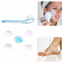 Load image into Gallery viewer, Waterproof Face Spin Facial Brush Body Shower Spinning Spa Bath Brush Scrubber 4757 (Large Letter Rate)