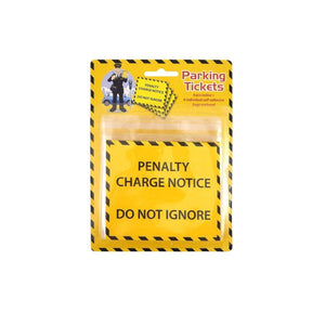 'Penalty Charge Notice Do Not Ignore' Parking Fine Ticket 6 Pack N45020 (Large Letter Rate)