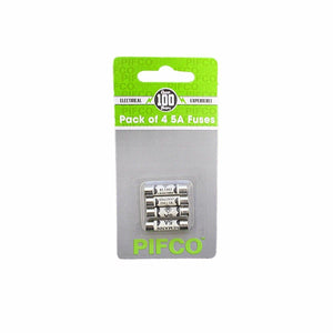 PIFCO Pack of 4 5A Fuses ELA1157 (Large Letter Rate)