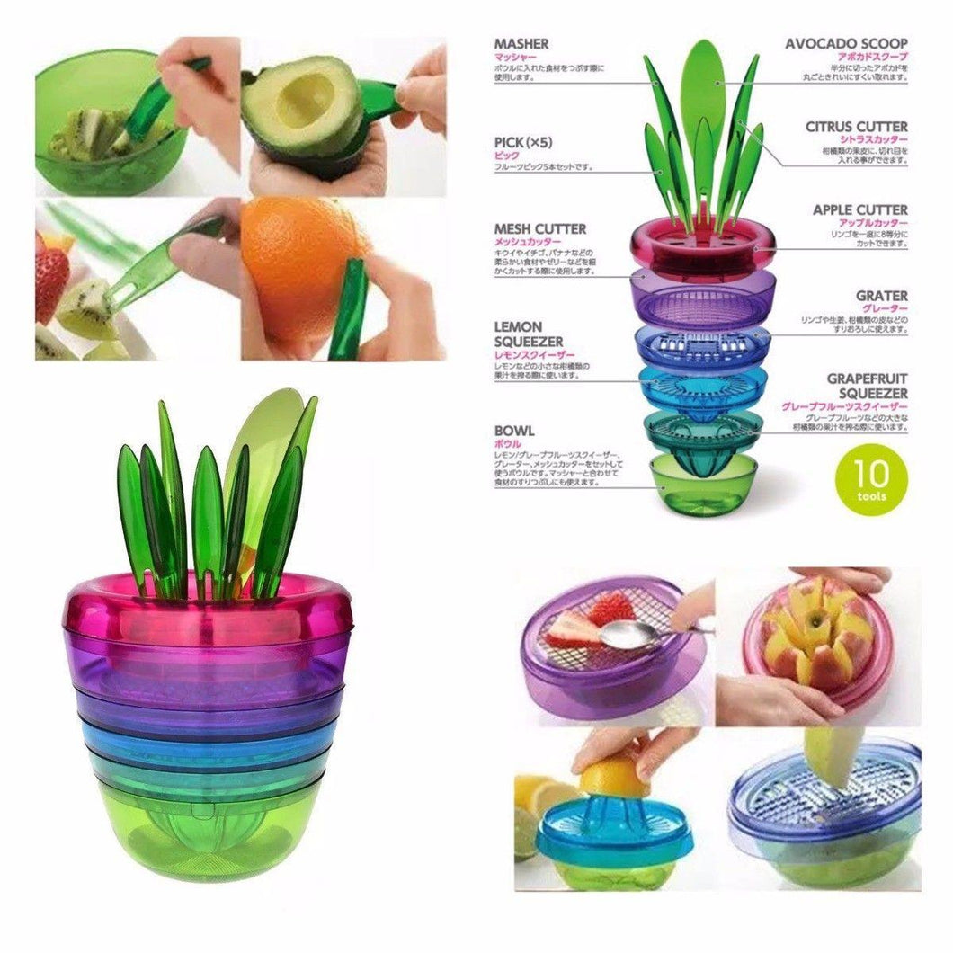 Fruits Plants Cut Out Squeeze and More Tools Read Instructions Before Use   2502 (Parcel Rate)