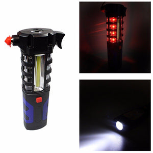 Camping Security ZJ- 809 Working Lamp Torch Requires 3AA Batteries Home Outdoors  4603 (Parcel Rate)