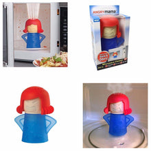 Load image into Gallery viewer, Microwave Cleaner Angry Mama Microwave Oven Fast Action Steam Cleaner 3931 (Parcel Rate)