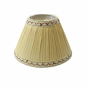 Lamp Shade Table Shade 8'' Light Lamp Cover Shade Beige 4308 (Parcel Rate)