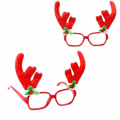 Fancy Novelty Christmas Fun Sun Glasses Suitable For All 14cm   4631 (Parcel Rate)