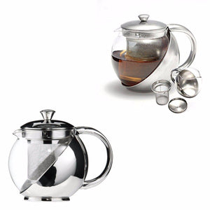 Stainless Steel Pot 900ml Ideal for Tea and Coffee  2350 (Parcel Rate)