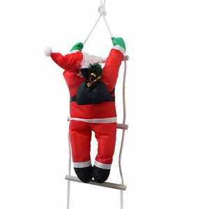 Climbing Santa With Rope Ladder, Suitable for Indoor and Outdoor  50 cm   1758 (Parcel Rate)