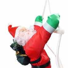 Load image into Gallery viewer, Climbing Santa With Rope Ladder, Suitable for Indoor and Outdoor  50 cm   1758 (Parcel Rate)