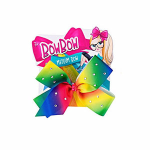 Beautiful Rainbow Girls Ribbon With Clip 3+ Ages    0631 (Large Letter Rate)