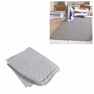 Padded Iron Cover Garment Ironing Mat Storage Foldable 91cm x 55cm  4761 (Parcel Rate)