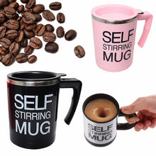 Load image into Gallery viewer, Self-Stirring Coffee Mug Auto Mixing Tea/Soup Easy Maker Office Home X'Mas Gift  4306 (Parcel Rate)