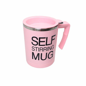 Self-Stirring Coffee Mug Auto Mixing Tea/Soup Easy Maker Office Home X'Mas Gift  4306 (Parcel Rate)