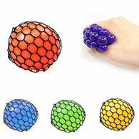 New Squishy Gooky Cripper Mesh Ball Squeeze Stressball Yuch Colour gift party   4549