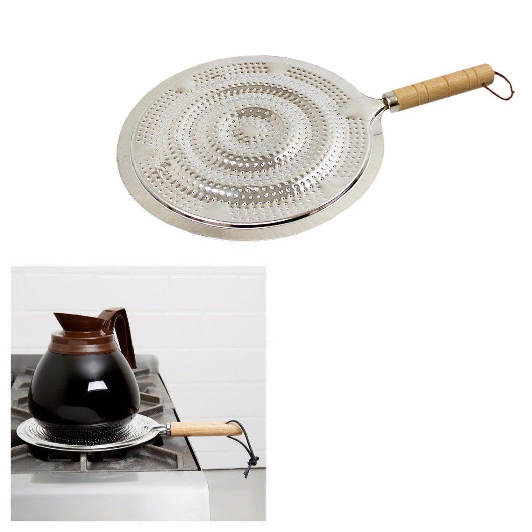 Simmer Ring Heat Diffuser Gas Electric Pan Mat Size 21cm Kitchen Home 4822 (Parcel Rate)