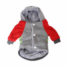 Load image into Gallery viewer, Dogs Harness Style Fabric Jacket Size Small 17cm x 22cm Assorted Colours Pets 1813 (Parcel Rate)