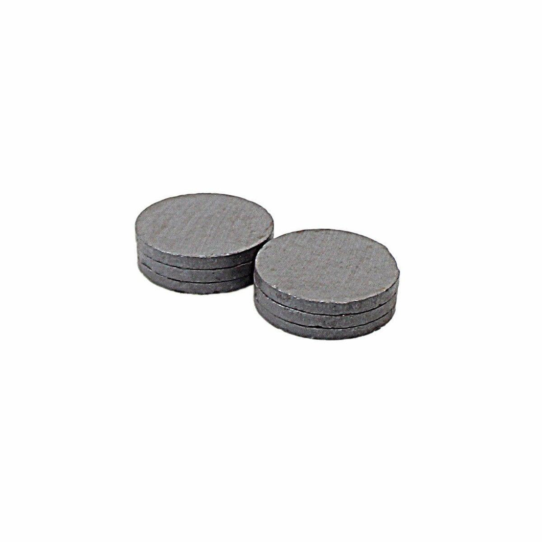 Pack Of 6 Round Magnets 3 x 30mm Office & Industrial Use 4920 (Parcel Rate)