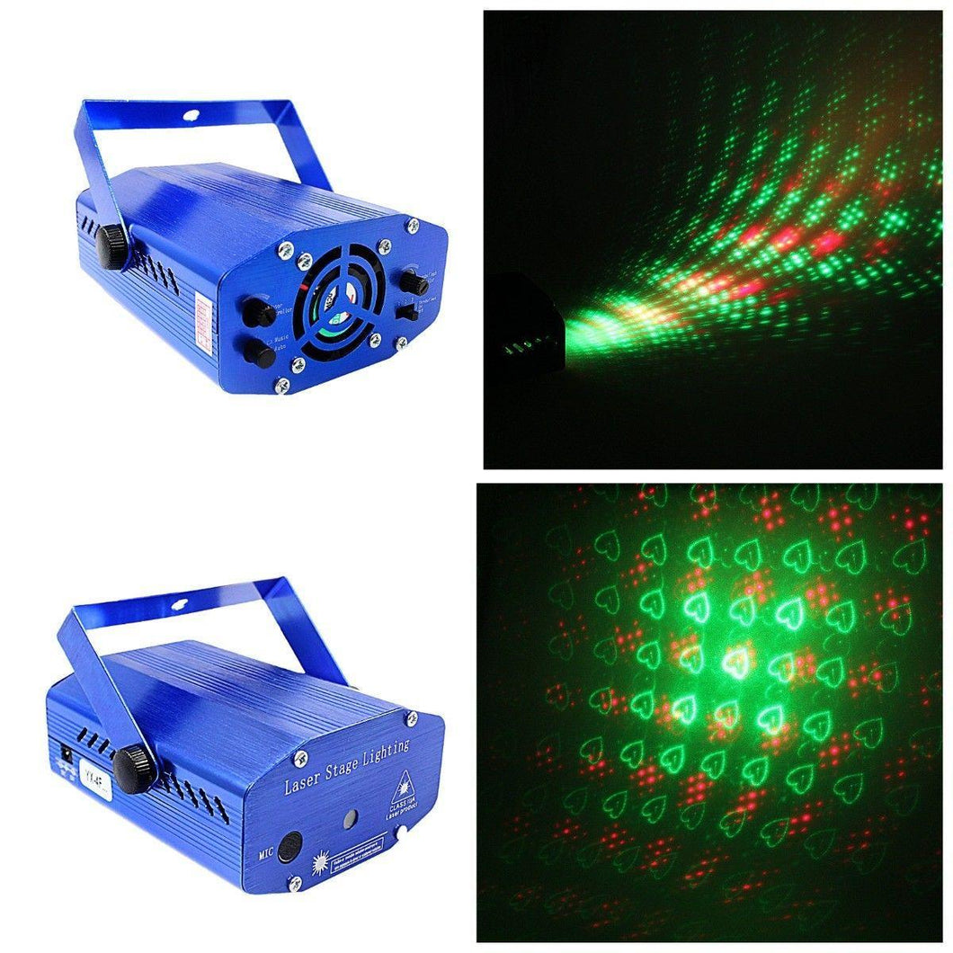 Pro Mini Laser Stage Holographic Laser & Lighting,Moving Adjustable Motion Speed   2100 (Parcel Rate)