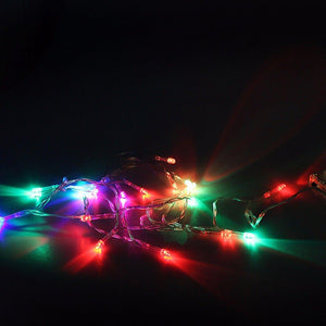 50 x LED Multi-Coloured Christmas Fairy Lights, Battery Operated  4706 (Large Letter Rate)