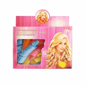 Magic Hair Curlers Leverage Ringlets Rollers Spiral Hairband Tool Pack Of 18  4016 (Parcel Rate)