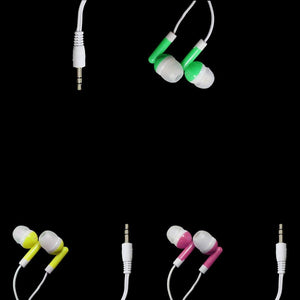 Standard Earphones High Quality Smartphone Earphones In Assorted Colours  4882 (Large Letter Rate)
