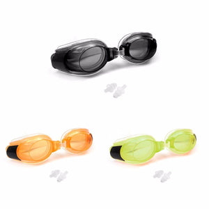 Stylish Comfortable Swimming Goggles In Assorted Colours With Nose Clip Outdoors 2140 (Large Letter Rate)