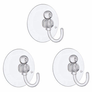 Value Pack Suction Hooks 40mm Pack Of 3 Home Diy  0248 (Large Letter Rate)