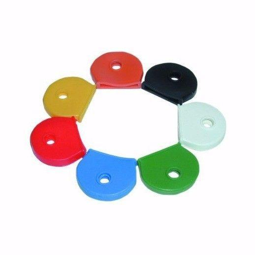 8 x Coloured Key Covers, Ideal for Identifying & Labelling Keys  0320 (Large Letter Rate)