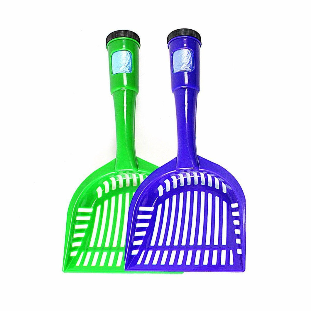 Cat Dog Poop Sieve Scoop with Waste Bags Pet Litter Wastes Treatment Tools   4124 (Parcel Rate)