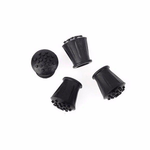 Stick Ferrules 7/8'' Black Rubber Pack Of 3 Diy  0293 (Large Letter Rate)
