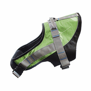 16 Chest Adjustable Soft Padded Non Pull Pet Dog Harness Vest Walking S-XL Nylon 3946 (Parcel Rate)