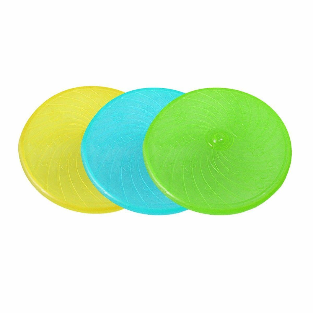 Training Soft Frisbee For Throwing, Flying Disc Perfect Fetch Silicone Toy   3043 (Parcel Rate)
