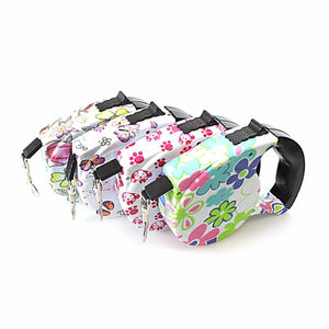 Quality Designer Windup Retractable Dog Lead With Comfort Grip 16.5/5m  0053 (Parcel Rate)