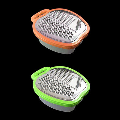 Multi Function Grater Item Ideal Food Prep Tool In 2 Colours   0419 (Parcel Rate)