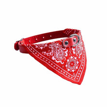 Load image into Gallery viewer, Assorted Colour Bandana Style Dog Collar Leash 42cm Pets 0034 (Parcel Rate)