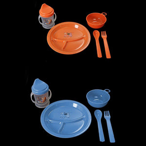Baby Feeding Set Plate, Bowl, Lidded Tumbler & Cutlery Home 1541 (Parcel Rate)