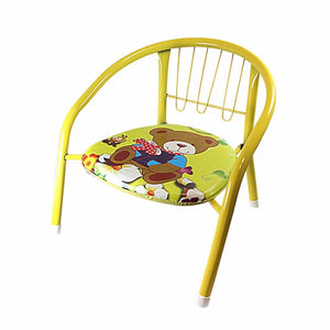 Comfortable Childrens Mix Colours  Metal Baby Chair Approximately 35cm Home 0951 (Big Parcel Rate)