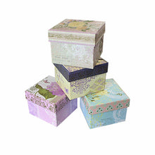 Load image into Gallery viewer, Assorted Colour/Design Jewellery Gift Boxes Ideal Gift Boxes 7.5cm x 6cm   2929 (Parcel Rate)